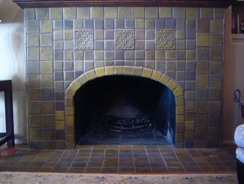 1930 s Tiled Fireplaces